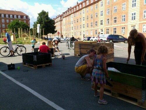 Fleksible skolehaver bygges på Tåsinge Plads