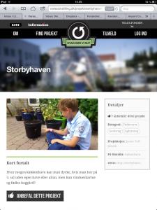 Screendump Vores Omstilling